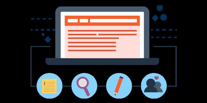 إدارة محتوى المواقع الإلكترونية